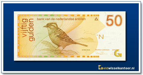 Nederlandse Antillen 50 Gulden Andes mus 1986-1994