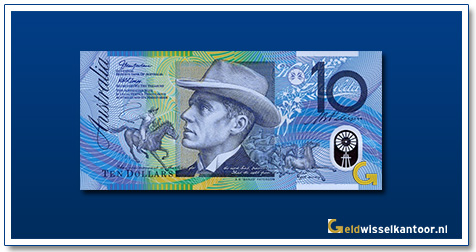 "Australië 10 Dollar A.B. ""Banjo"" Paterson 2017-heden"