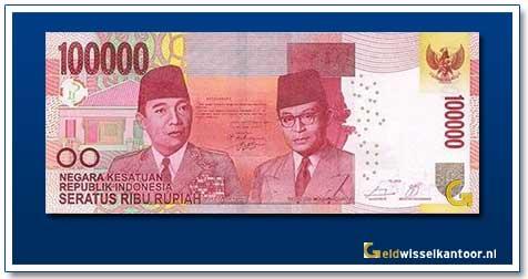 Indonesië-100.000-Rupiah-Soekarno-and-Hatta-2014-2016